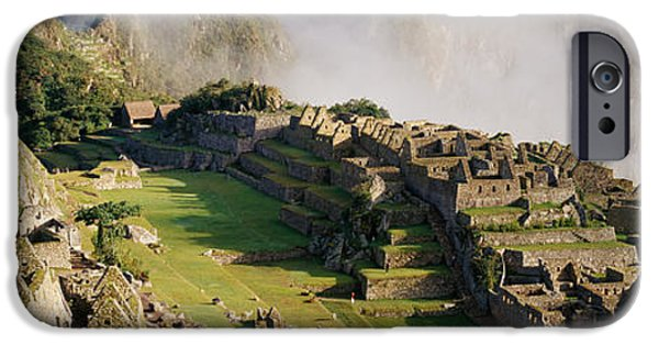 Historic Site iPhone Cases - Machu Picchu, Peru iPhone Case by Panoramic Images