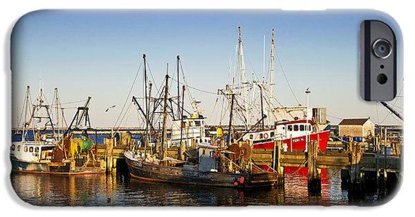 Cape Cod iPhone Cases - MacMillan Wharf iPhone Case by John Greim