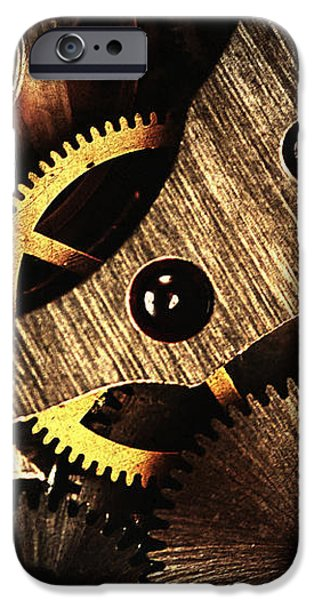 macro mechanic iPhone Case by Svetoslav Sokolov