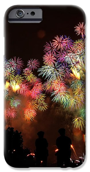 Macy's July 4th Fireworks New York City  iPhone Case by Nishanth Gopinathan
