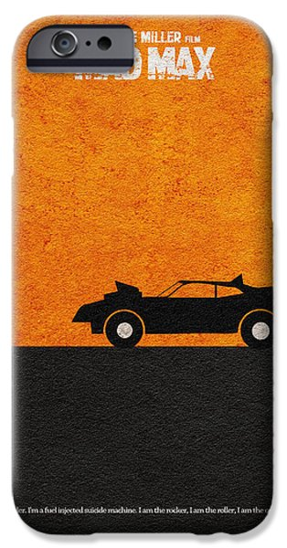 Mad iPhone Cases - Mad Max iPhone Case by Ayse Deniz