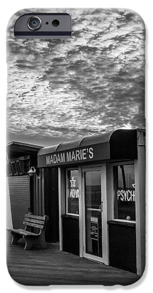 Madam Marie's iPhone Case by David Rucker