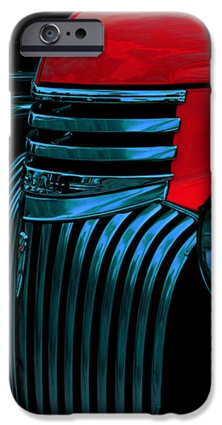 Airbrush iPhone Cases - Made Of Steel iPhone Case by Jack Zulli
