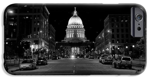 Madison Wi Capitol Dome iPhone Case by Trever Miller