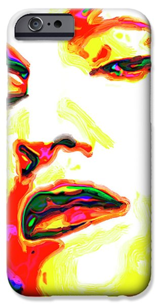 Recently Sold -  - Lips iPhone Cases - Madonna iPhone Case by  Fli Art