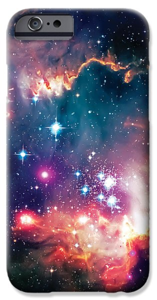 Magellanic Cloud 1 iPhone Case by The  Vault - Jennifer Rondinelli Reilly