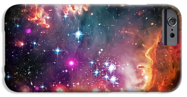 The Heavens iPhone Cases - Magellanic Cloud 2 iPhone Case by The  Vault - Jennifer Rondinelli Reilly