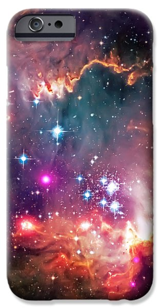 Magellanic Cloud 2 iPhone Case by The  Vault - Jennifer Rondinelli Reilly