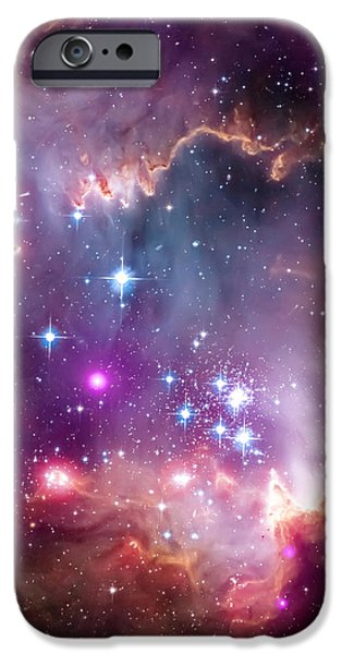 Magellanic Cloud 3 iPhone Case by The  Vault - Jennifer Rondinelli Reilly