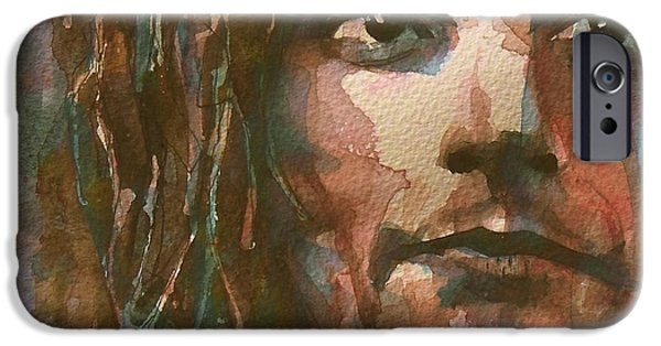 Photo Paintings iPhone Cases - Maggie May  iPhone Case by Paul Lovering