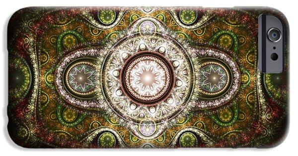 Persian Carpet iPhone Cases - Magic Carpet iPhone Case by Anastasiya Malakhova
