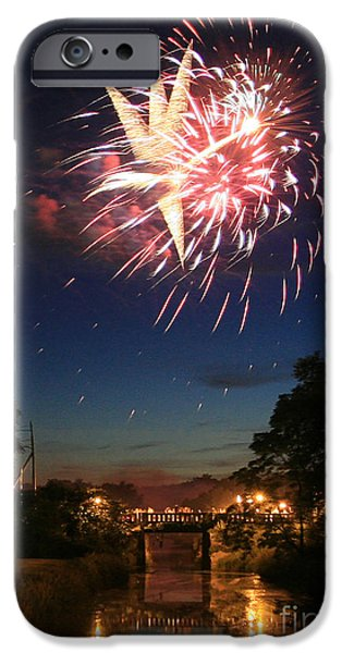 Magic in the Sky iPhone Case by Paula Guttilla