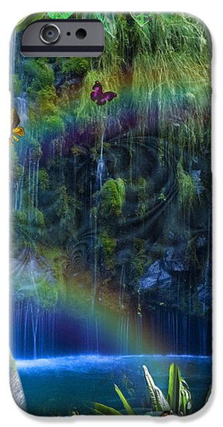 Magic Jungle iPhone Case by Alixandra Mullins