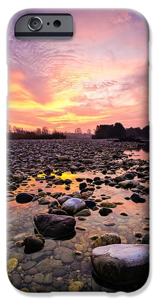 Magic morning II iPhone Case by Davorin Mance