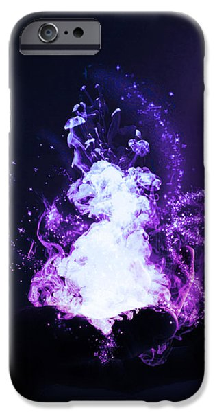 Fantasy Digital Art iPhone Cases - Magic iPhone Case by Nicklas Gustafsson