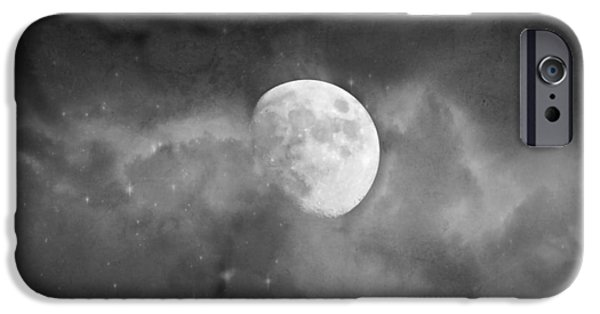 Moonscape iPhone Cases - Magic Under The Moon iPhone Case by Melissa Bittinger