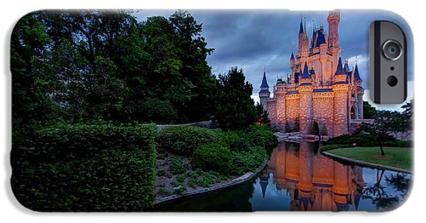 Magic Kingdom iPhone Cases - Magic iPhone Case by Zach  Roberts