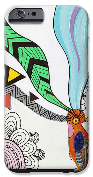 Shape iPhone Cases - Magical Mind iPhone Case by Susan Claire