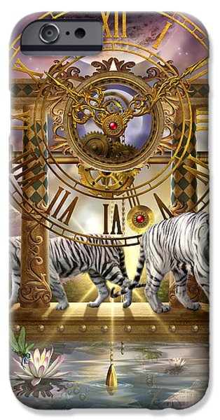Gypsy Digital iPhone Cases - Magical Moment in Time iPhone Case by Ciro Marchetti