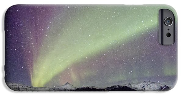 Aurora iPhone Cases - Magical Night iPhone Case by Evelina Kremsdorf