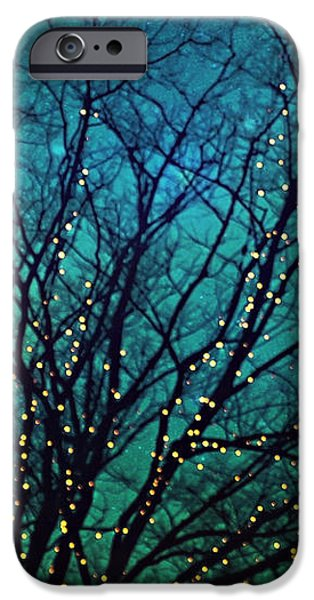 Magical night iPhone Case by Sylvia Cook