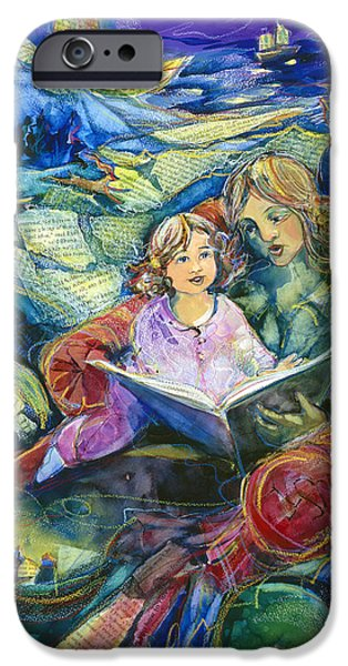 Recently Sold -  - Child iPhone Cases - Magical Storybook iPhone Case by Jen Norton