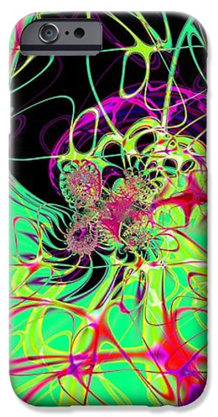Abstract Forms iPhone Cases - Magnification of Particles iPhone Case by Solomon Barroa