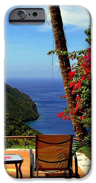 Magnificent Ladera iPhone Case by KAREN WILES