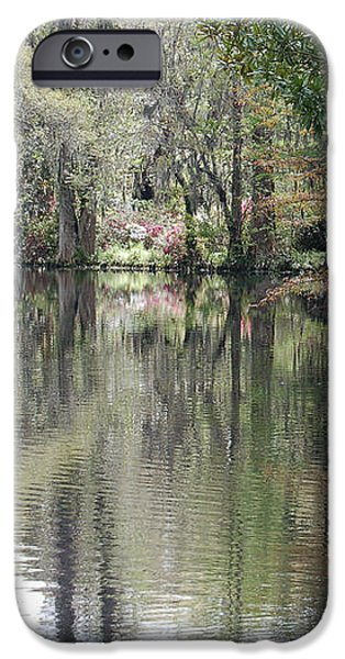 Magnolia Plantation Gardens Series II iPhone Case by Suzanne Gaff