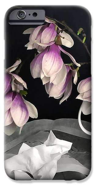 Magnolia Still iPhone Case by Diana Angstadt