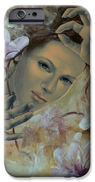 Magnolias iPhone Case by Dorina  Costras