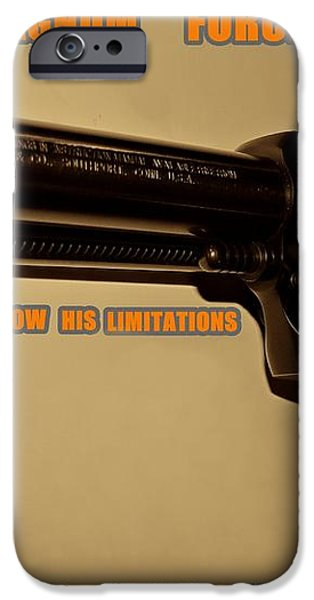 Magnum Force Custom iPhone Case by Movie Poster Prints