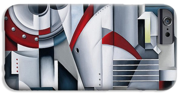 Recently Sold -  - Abstract Forms iPhone Cases - Maiden Voyage iPhone Case by Catherine Abel