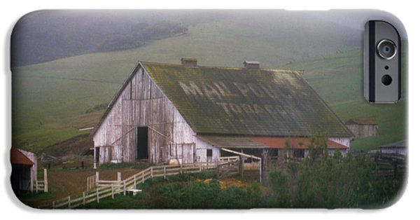Rainy Day iPhone Cases - Mail Pouch Barn Three iPhone Case by Joe Darin