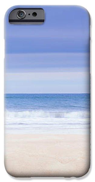 Main Beach Pilings iPhone Case by Ryan Moore