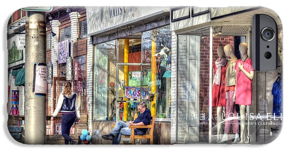 Toy Store iPhone Cases - Main Street - Great Barrington - No.3 iPhone Case by Geoffrey Coelho