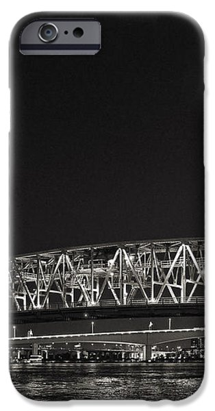 Main Street Bridge Jacksonville Florida iPhone Case by Christine Till