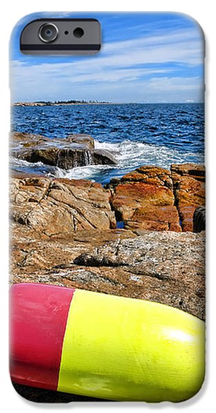 Maine Coast iPhone Case by Olivier Le Queinec