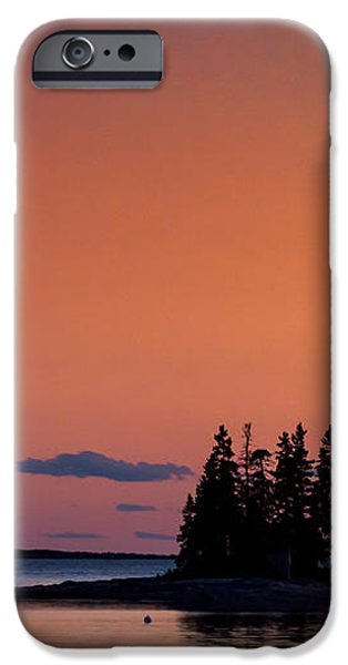 Maine Coastal Island iPhone Case by John Greim
