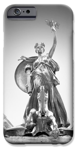Maine Monument iPhone Case by Mike McGlothlen