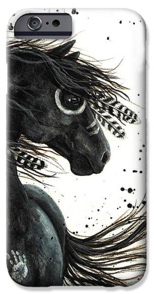 Majestic Friesian iPhone Case by AmyLyn Bihrle