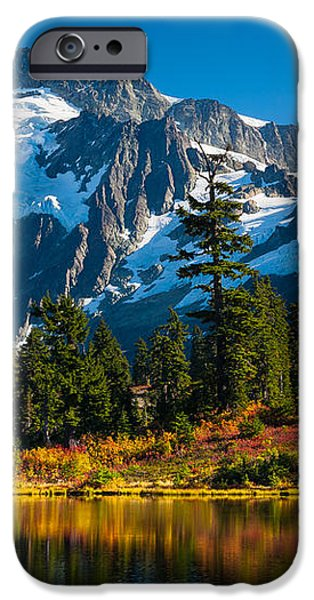 Majestic Mount Shuksan iPhone Case by Inge Johnsson