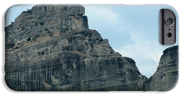 Village iPhone Cases - Majestic Mountain iPhone Case by Alexandros Daskalakis