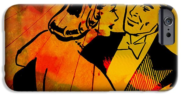 Recently Sold -  - Creepy iPhone Cases - Make-believe Ballroom iPhone Case by Humphrey King