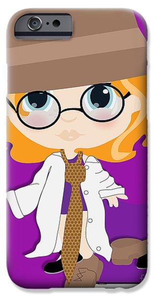 Bed Spread iPhone Cases - Make Believe iPhone Case by Toni Jonckheere