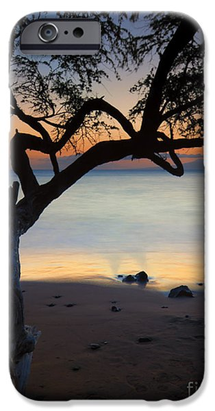 Makena Breeze iPhone Case by Mike  Dawson