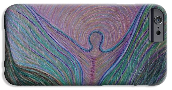 Spiritual Pastels iPhone Cases - Making an Appearance with Backbone iPhone Case by Jamie Rogers