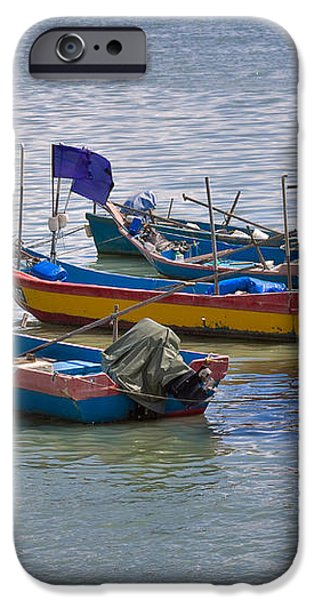 Malaysian Fishing Jetty iPhone Case by Louise Heusinkveld