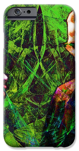 Malcolm and The King 20140205p68 iPhone Case by Wingsdomain Art and Photography