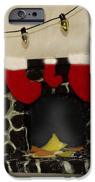 Mallow Christmas iPhone Case by Heather Applegate